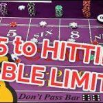 $15 to Table Limit!! Triple Lux Craps System – Part 4