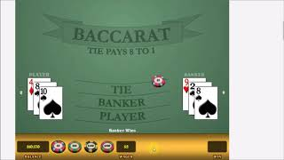 Baccarat Profits. FROM $5 TO $1000!! USE CAUTION PLAYING THIS. No talking. $640 Bet at 4:31.