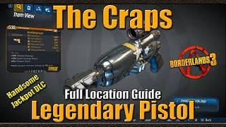 Borderlands 3 | The Craps | Legendary Pistol | Full Location Guide | Handsome Jackpot DLC