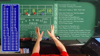 """Aggressive High Roller"" Double-Wait-Double Press"" Craps Strategies & Tutorials 2020"