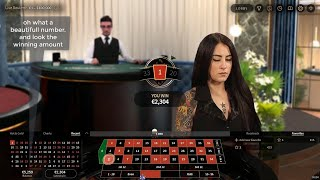 Roulette strategy – (how to make 1300€ in 30 minute)