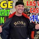Baccarat HUGE $14,000 Win For Professional Gambler In Las Vegas At Bellagio & MGM Grand Casino.