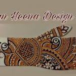 learn indian mehndi design on own hand ||| 2020 creative henna design
