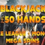 Justice League + Monopoly On the Money + £50 Hands on Blackjack