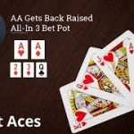 Poker Strategy: AA Gets Back Raised All-In 3 Bet Pot