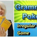 Grammar Poker Game  (Learn 60 irregular verbs)