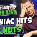 MANIAC Hits the NUTS! [LIVE CASH GAME]