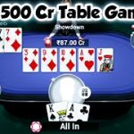Poker 500 cr Table Gameplay TEEN PATTI GOLD