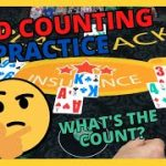 Blackjack CARD COUNTING Practice – Three Hand Special – Part 2
