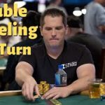 Poker Strategy; Evaluating a Turn Double Barrel
