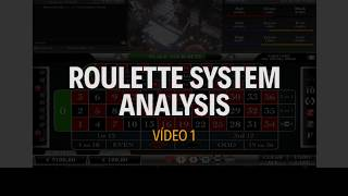 STRATEGY APPLICATION – Roulette System Analysis – Vídeo 1 – 1.300 Profit – Double Cycle – Single Bet