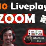 Moving Down the Stakes?! $10NL Zoom Poker Grind (on PokerStars)