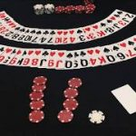 Blackjack Simulation #1: 1v1 4 decks 20 chips Hitting cards up to 17 Not Basic Strategy