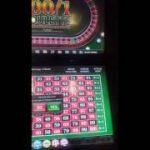 100/1 roulette machine…the BIG win