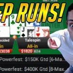 DOUBLE Deep Runs! $1,050 Powerfest Final Table PKO + $2,100 Powerfest