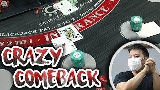 MASSIVE WIN DOUBLE DECK BLACKJACK – Blackjack Live