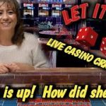 Real Live Casino Craps – Josie is up how will my wife do?