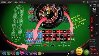Roulette Strategy, Tips & Tricks to place bets. The game ended up with almost a total loss.
