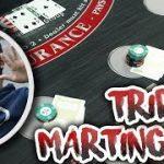 TRIPLE MATINGALE Betting – Blackjack Live