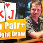 Top Pair + Straight Draw [POKER STRATEGY]