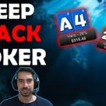Deep Stack Poker Strategy: Should you sit out after you double up?