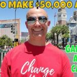 How To Make $50,000 A Year (CASH) Gambling At The Casino By Christopher Mitchell.