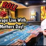Playing Craps with Josie for Mothers Day.
