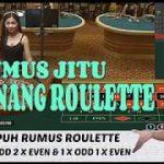 Rumus Jitu Menang Roulette Online