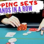 I can't stop FLOPPING SETS in this cash game! // Texas Holdem Bankroll Challenge 2