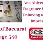 Ana Abiyedh Rouge Fragrance by Lattafa | Unboxing and Itinial Impression | Baccarat Rouge 540 Clone