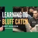 Learning how to Bluff Catch in Poker