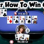 Poker How To Win Teenpatti Gold Latest Tricks And Tips