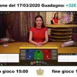"""378GOLDSTAR Baccarat Strategy """"Vincere non è mai stato così facile"""" Oggi vinti 32€"""
