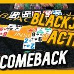 BIG COMEBACK! – INSANE AMOUNT OF BLACKJACK ACTION!