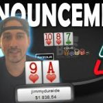 My largest Pot at ZOOM $500 NL!!!  jimmyduraide reviews his biggest hands + huge announcement!
