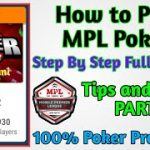 How to Play in Poker Mpl Game kaisa khele Poker Tips and Tricks {Part-2}2020