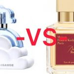 Baccarat rouge 540 and other less expensive versions/perfume collection