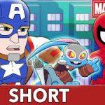 Spidey and Cap Track Down Blackjack! | Marvel Super Hero Adventures – It's On Me  | SHORT