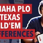 Differences Between Omaha PLO and Texas Hold'em