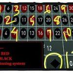 STEVE PACKER 12 RED/12 BLACK Roulette System
