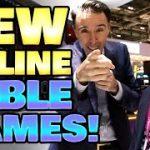 Live Online CRAPS?! + Mega Ball, Instant Roulette, Power Blackjack and Lightning Baccarat | Vlog 47