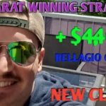 Christopher Mitchell Fan Baccarat Winning Strategy –  $4,400 Cash Profit At  Bellagio With Client