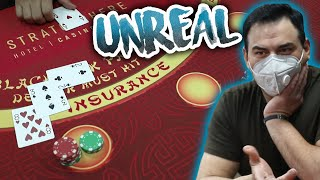 🔥 UNREAL 🔥 10 Minute Blackjack Challenge – WIN BIG or BUST #39