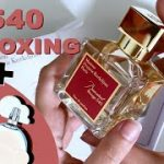 BACCARAT ROUGE 540 UNBOXING + DUPE REVIEW | MAISON FRANCIS KURKDJIAN vs ARIANA CLOUD | MFK BR540
