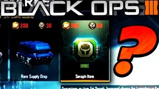 "NEW SECRET ""SPECIALIST BRIBE"" SUPPLY DROPS in Black Ops 3 (Possible BlackJack DLC?)"