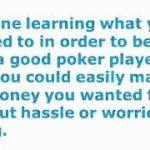 NL Texas Hold Em Poker Tips – 6 Amazing Breakthrough Tips