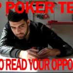 Top Poker Tells! How to Read Your Opponents!