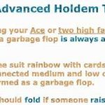 Advanced Texas Hold'em Tips