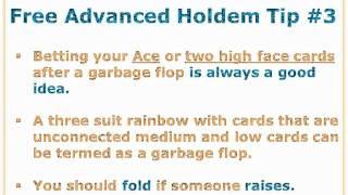 Advanced Texas Hold'em Tips