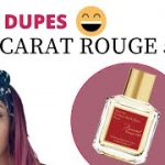 YES…MORE AFFORDABLE BACCARAT ROUGE DUPES / FREDRICO MAHORA / PERFUME COLLECTION / VALLIVON